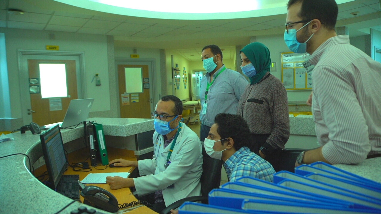 The eight clinical innovation fellows 2020 spent six weeks of deep immersion in the Children's Cancer Hospital Egypt 57537 to for need identification and solution concept generation.